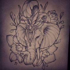 elephant tattoo | Best Elephant Tattoos