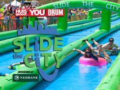 Slide the City events will no longer take place this year in light of one of South Africa's driest seasons in recent years. Slide The City, City Events
