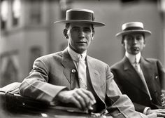 A 1912 Suit/Tie/Boater you could wear 100 years later and look at home.