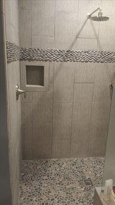 565 Best Bathroom Pebble Tile And Stone Tile Ideas Images