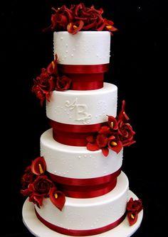 Amazing valentine wedding cakes 2014 | Alzefaf.com
