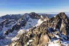 View from Lomnicky Peak, High Tatras, #Slovakia