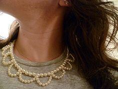 PAP: Colar de perolas da Olivia Palito/colar de perolas
