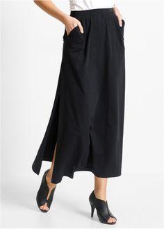 Трикотажная юбка, bpc selection, черный