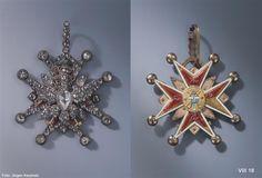 Kleinod des Polnischen Weißen Adler-Ordens (Diamantrosengarnitur) - SKD Online Collection