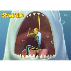 Would love to do a life size shark with a cut-out i it's mouth for the boys' heads . a photo op. Would be nice if it could be a 'Shark Tale' image, so as not to be too scary - we'll see. Cartoon Movies, Movie Characters, Halloween Classroom Door, Big Shark, Shark Tale, Disney Princess Movies, Cartoons Love, Shark Party, Kung Fu Panda