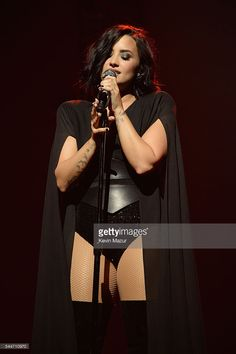 Demi Lovato performs onstage during the Demi Lovato and Nick Jonas Honda Civic Tour: Future Now at Amway Center on July 2, 2016 in Orlando, Florida.