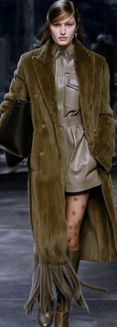Fashion 2020, Fashion Show, Fendi, Designer Collection, Editorial Fashion, Ready To Wear, Fall Winter, Women Wear, Street Style