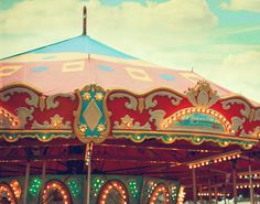 Carnival Photo  Carousel Fine Art Photography by kimfearheiley