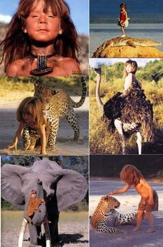 I would love to give my child a childhood like this!! Tippi Degre in Namibia Africa