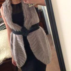 Faux Fur Jacket Beautiful sleeveless faux fur jacket! Jackets & Coats