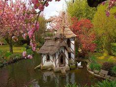 Hugh Comstock Fairy Tale Cottages | fairytale cottage folly via Tumblr