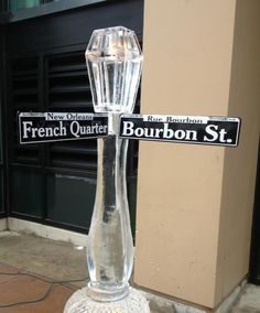 Love this NOLA ice sculpture, carved for a party in Rochester, MN. We know y'all celebrate New Orleans all over the world – in NOLA-themed bars & restaurants, the food you make at home, Mardi Gras parties and more.