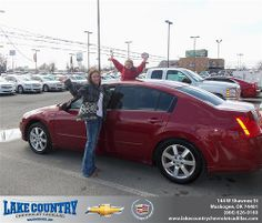 Happy Anniversary to Mark Guthrie on your 2005 #Nissan #Maxima from John Hatcher  and everyone at Lake Country Chevrolet Cadillac! #Anniversary