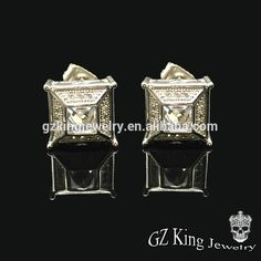 hip pop micro pave diamond round shape white cubic zirconia screw back stud boys earrings designs for men, View boys earrings, Kingjewelry Product Details from Guangzhou King Jewelry Trading Company Ltd. on Alibaba.com