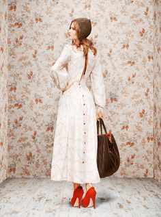 Pin Up Life: Ulyana Sergeenko Russian Inspiration