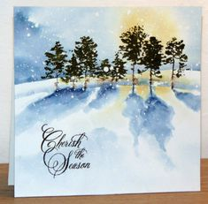 Cherish the Season by Micheline Jourdain - Cards and Paper Crafts at Splitcoaststampers