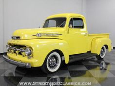 1952 Ford F1 Truck Yellow Other Manual Other | Classic Trucks | Fort Worth, TX