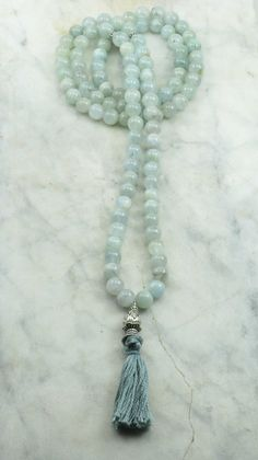 Morning_Mist_Mala_108_Aquamarine_Mala_Beads_Buddhist_Prayer_Beads