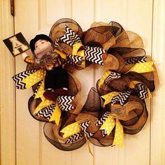 Appalachian Football Wreath