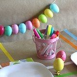 How to Make an Easter Egg Garland