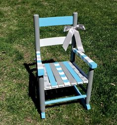 handpainted rocking chair nursery decor by on etsy
