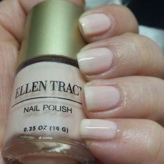 Ellen Tracy Nude Polish #ellentracy #nudepolish #swatch #manicure
