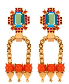 Mawi earrings...these babies deserve a design award. So lovely.