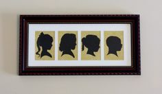Mother's Day Silhouette Gift - For Under $6 ~ These Four No More