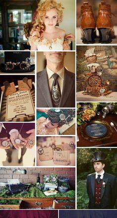 Steampunk Wedding Quelles astuces pour organiser votre mariage sur http://yesidomariage.com