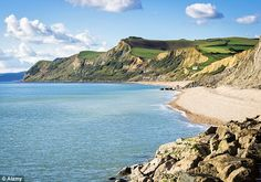 Jurassic coast, Dorset, southern UK