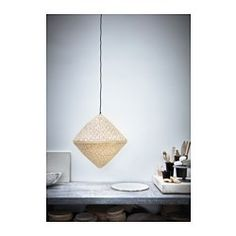 IKEA   VIKTIGT, Pendant Lamp Shade, Each Handmade Natural Fibre Shade Is  Unique.Gives A Soft Glowing Light, That Gives Your Home A Warm And  Welcoming ... Nice Look