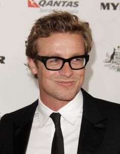 Simon Baker- never use to think he was cute until I started watching The Mentalist.
