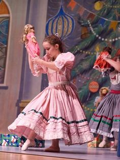 """The Nutcracker"" is Presented by The Donetsk Ballet Company & L'École de la Dance School of the Mt. Nutcracker Ballet Costumes, Dance Costumes, Ballerina Doll, Little Ballerina, Ballet Shows, Ballet Companies, Sewing Dolls, Dance Studio, Dance Outfits"