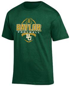 Baylor Bears Green Football Short Sleeve T Shirt by Champion $19.95