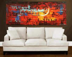 wall Art Painting oil painting abstract por jolinaanthony