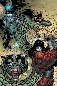 Paul-Star Child with totems from Psycho Circus Paul Kiss, Kiss World, El Rock And Roll, Heavy Metal Art, Comic Art Community, Kiss Art, Band Wallpapers, Image Comics, Comic Artist