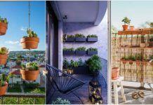 5 Τρόποι να τοποθετήσεις τις γλάστρες στο μπαλκόνι! Outdoor Structures, Plants, Plant, Planets