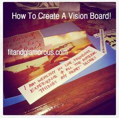 Goal Setting & Motivation - Making a Vision Board!
