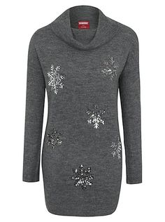 Christmas Sequin Snowflake Tunic, read reviews and buy online at George at ASDA. Shop from our latest range in Women. Stand out from the crowd of showy Chris...