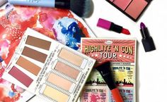 A palette that promises pretty perfection. #thebalm #makeup #blogger #contour # swatches #highlighter