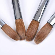 ACRYLIC Brush Nail Art Supply – SAINTCHiC Acrylic Nail Brush, Acrylic Brushes, Nail Art Brushes, Manicure Tools, Nail Manicure, Diy Nails, Gel Nail, Nail Art Supplies, Nail Art Tools