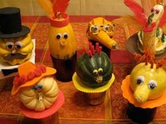 Fun project for the kids to help decorate for Thanksgiving! (and 9 more Thanksgiving table decorating ideas)