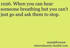 41 Best misophonia images in 2017 | Misophonia, Me quotes