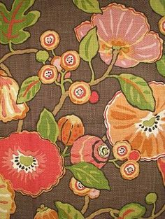 ~ P. Kaufmann fabric - Hip Chocolate