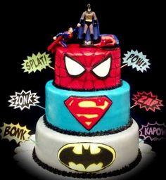 superhero birthday cakes | Superhero Cake
