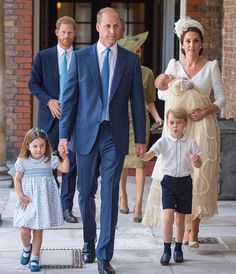 Prince Louis Christening! Family of 5!