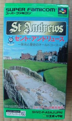 Super #Famicom :  St Andrews http://www.japanstuff.biz/ CLICK THE FOLLOWING LINK TO BUY IT ( IF STILL AVAILABLE ) http://www.delcampe.net/page/item/id,0369406009,language,E.html