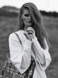 Lin 5 Lin Rosenbeck Goes Outdoors for Costume Magazine by Hordur Ingason