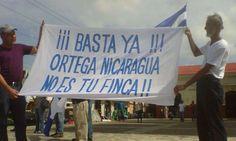Campesinos a Ortega: Nicaragua no es tu finca | Noticias de Nicaragua